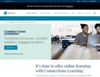 connectionslearning.com screenshot