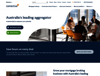 connective.com.au screenshot