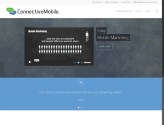 connectivemobile.com screenshot
