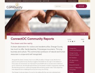 connectoc.org screenshot