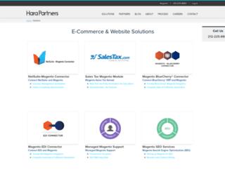 connectorhub.harapartners.com screenshot