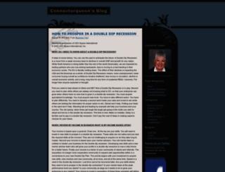 connectorqueen.wordpress.com screenshot