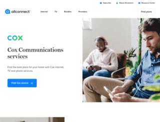 connecttocox.com screenshot