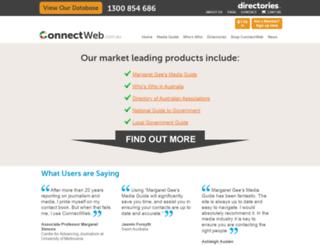 connectweb.com.au screenshot