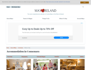 connemaraaccommodation.com screenshot