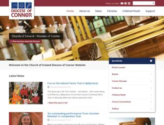 connor.anglican.org screenshot