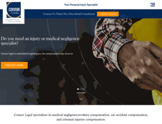 connorlegal.com.au screenshot