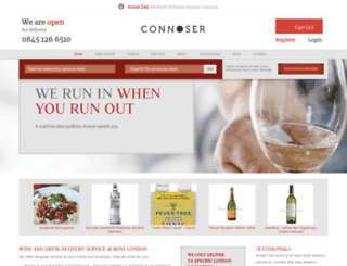 connoser.co.uk screenshot
