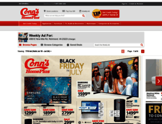 More Info: Shop at Conn's Appliances for cutting-edge home appliances from the top brands in the industry! They also have a select range of furniture and electronics! Take a look and don't forget that you can get free next day shipping on all appliances above $!5/5.