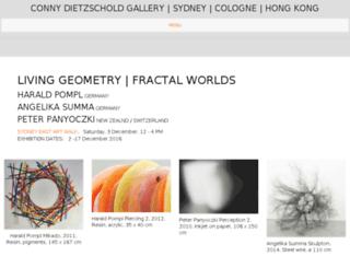 connydietzscholdgallery.com screenshot