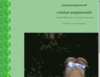 connyspuppenwelt.repage.de screenshot