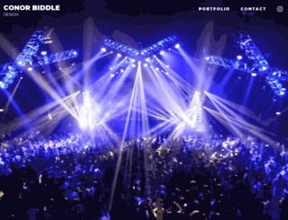 conorbiddle.com screenshot