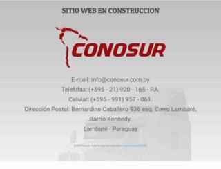 conosur.com.py screenshot