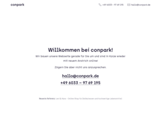 conpark.de screenshot