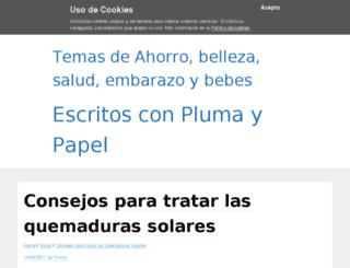 conplumaypapel.com screenshot