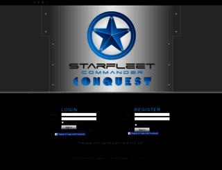 conquest.playstarfleet.com screenshot