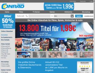 conrad-verleih.de screenshot