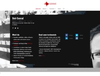 conradcommunications.com screenshot