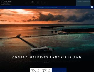 conradmaldives.com screenshot