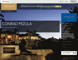 conradpezula.com screenshot