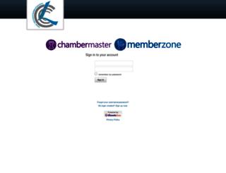 conroe.chambermaster.com screenshot