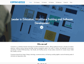conscienceit.com screenshot
