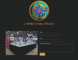 consciouschaos.com screenshot