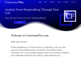 consciousflex.com screenshot