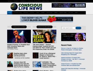 consciouslifenews.com screenshot