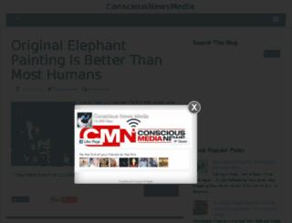 consciousnewsmedia.blogspot.co.nz screenshot