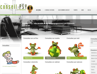 conseil-psy.fr screenshot