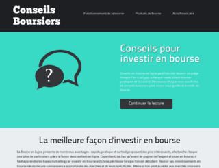 conseils-boursiers.net screenshot
