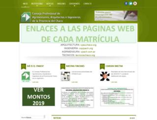 consejochaco.org screenshot
