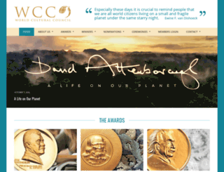 consejoculturalmundial.org screenshot