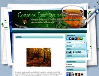 consejosfarmaceuticos.com screenshot