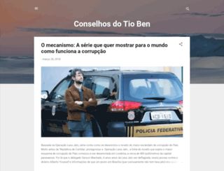 conselhosdotioben.blogspot.com.br screenshot