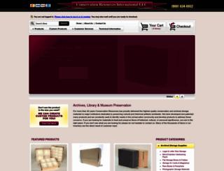 conservationresources.com screenshot