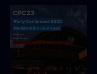 conservatives.com screenshot