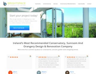 conservatorydesigns.ie screenshot