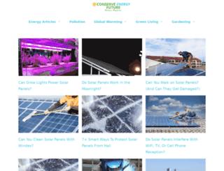 conserve-energy-future.com screenshot