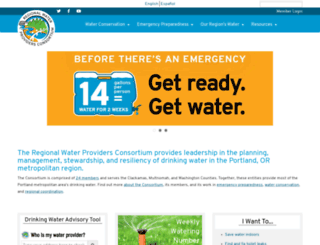 conserveh2o.org screenshot