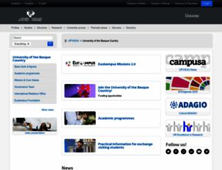 consigna.ehu.es screenshot
