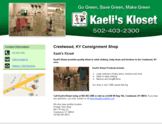 consignmentclothesfurnituretoys.com screenshot