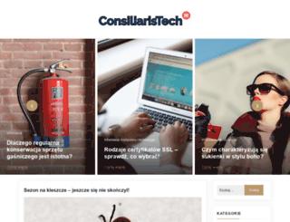 consiliaristech.pl screenshot