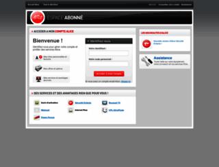 console.aliceadsl.fr screenshot