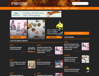 consolemonster.com screenshot