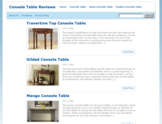 consoletablereviews.com screenshot