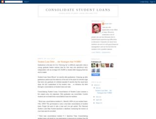 consolidate-student-loans-tips.blogspot.com screenshot