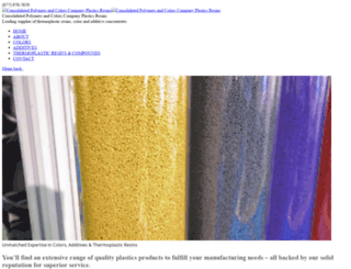 consolidatedpolymers.com screenshot