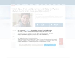 consommer-francais.sondagenational.com screenshot